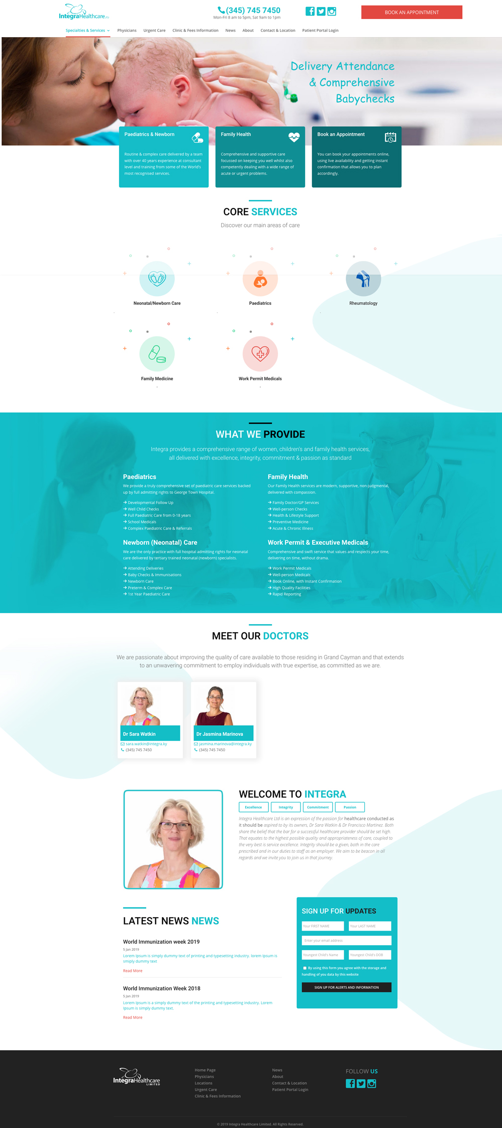 healthcare-website